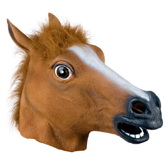круги на деревянной лошади