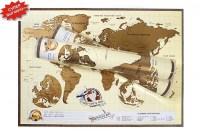 Скретч карта мира и Карта звездного неба