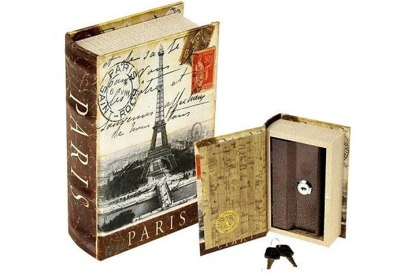 книги-сейфы в качестве подарка