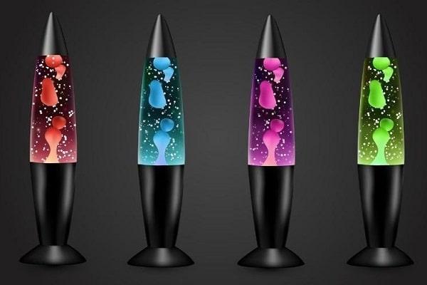 лава лампы разных цветов