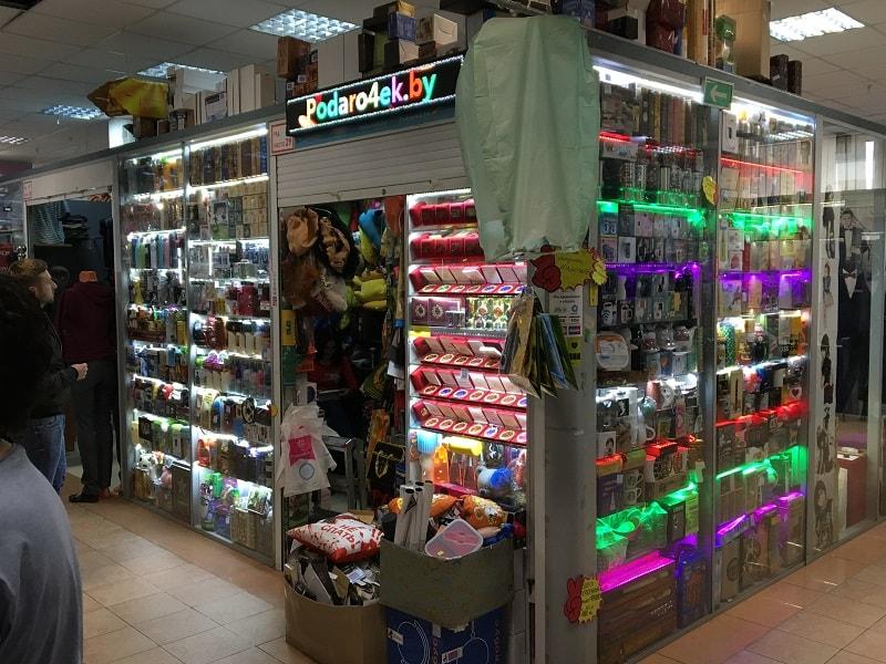 магазин подарков в Минске в торговом центре Силуэт