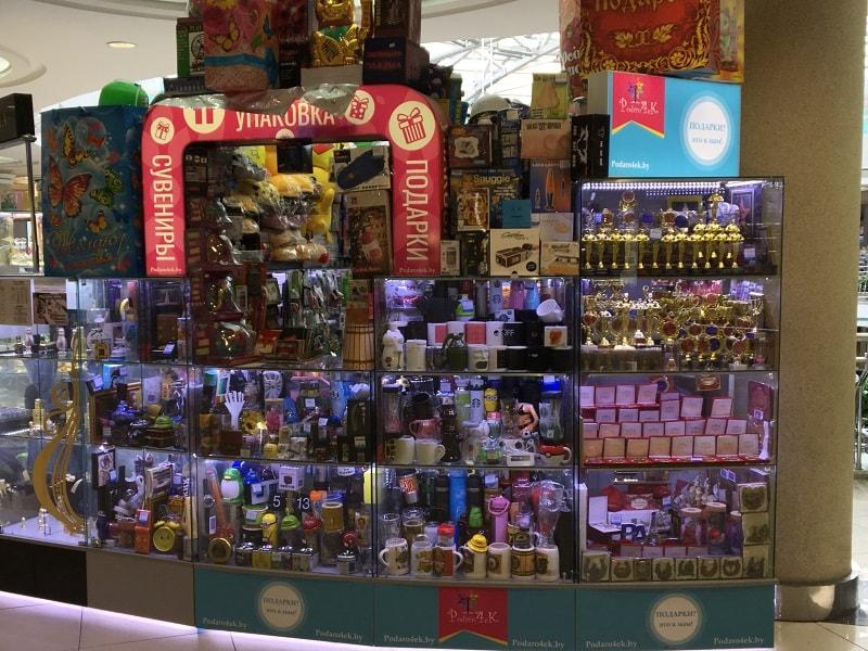 магазин подарков в Минске в торговом центре Столица
