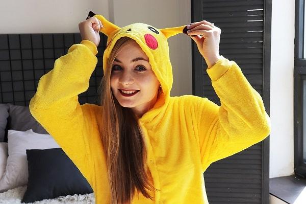 pizhama kigurumi pokemon pikachu