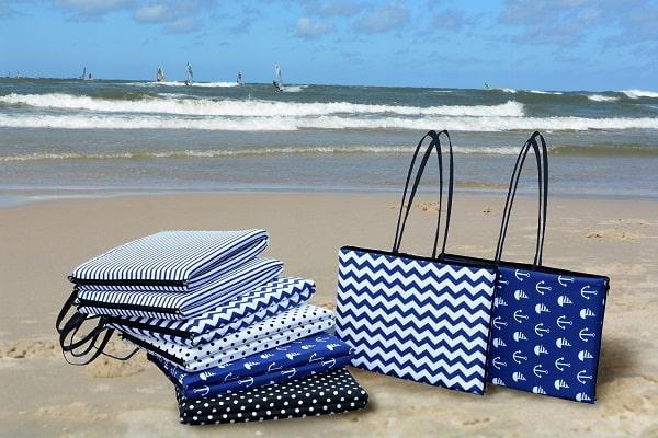 пляжные коврики на пляже