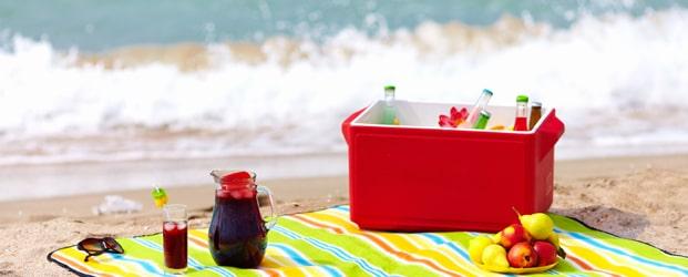 поступление пляжных полотенец и ковриков