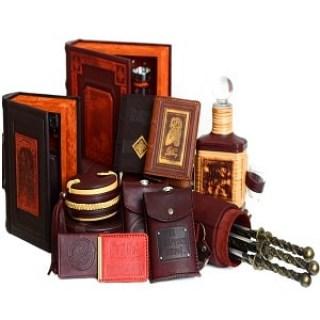 Подарки, аксессуары ручной работы из натуральной кожи купить Минск
