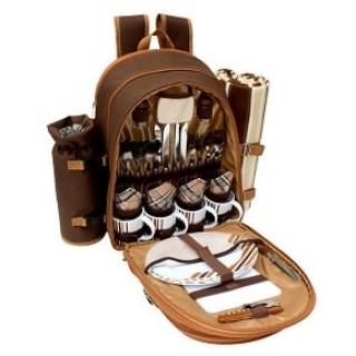 Наборы для пикника в рюкзаке, сумке, чемодане купить