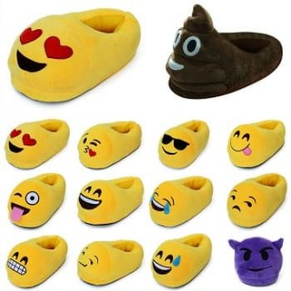 Тапочки смайлики, тапочки Emoji Минск
