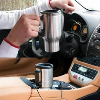 Автомобильная терморужка с подогревом от прикуривателя купить +3755447651009