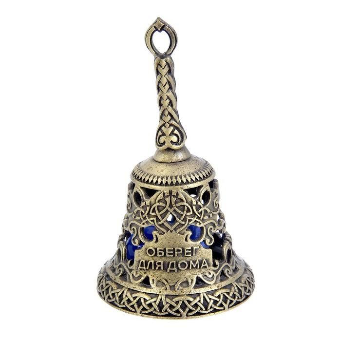 Колокольчик-талисман «Оберег для дома» с камнем купить Минск
