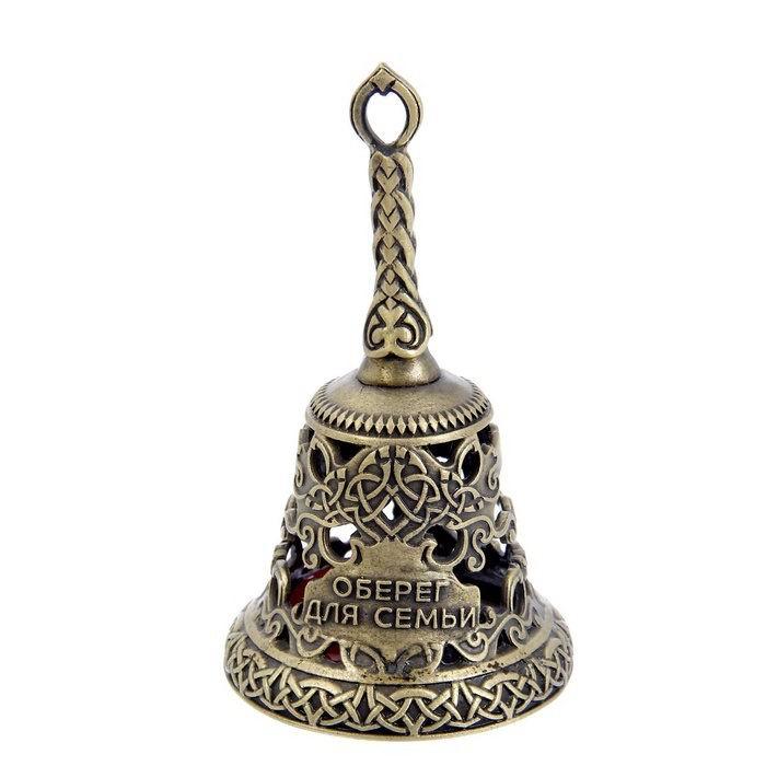 Колокольчик-талисман «Оберег для семьи» с камнем Минск купить