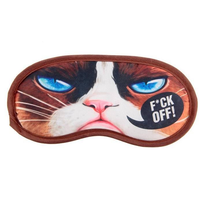Маска для сна «Кот» купить Минск +375447651009