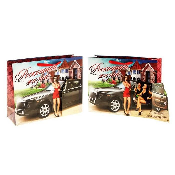 Подарочный пакет-открыткой «Роскошь» Минск