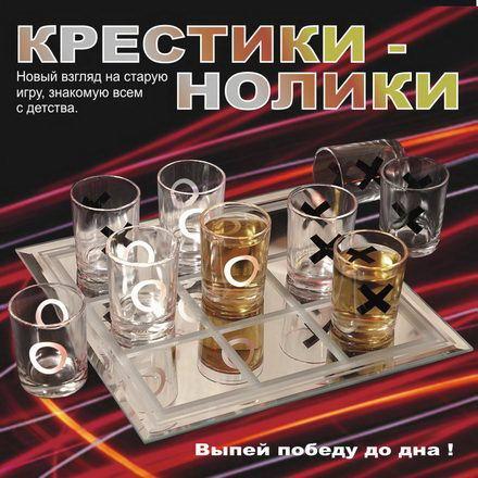 Алкогольная игра «Крестики-нолики» купить в Минске +375447651009