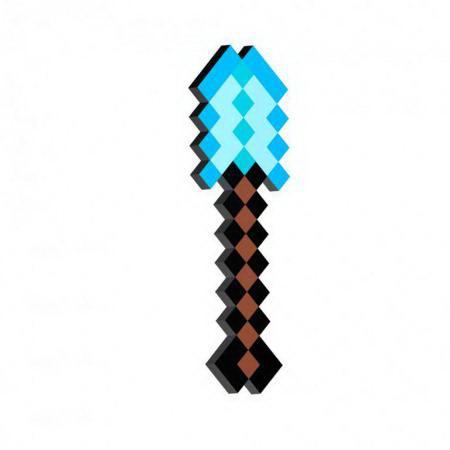 Лопата алмазная «Minecraft» (Майнкрафт), 45 см купить Минск +375447651009