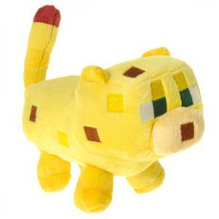 Плюшевая игрушка Детеныш Оцелота Майнкрафт (Minecraft) купить Минск +375447651009