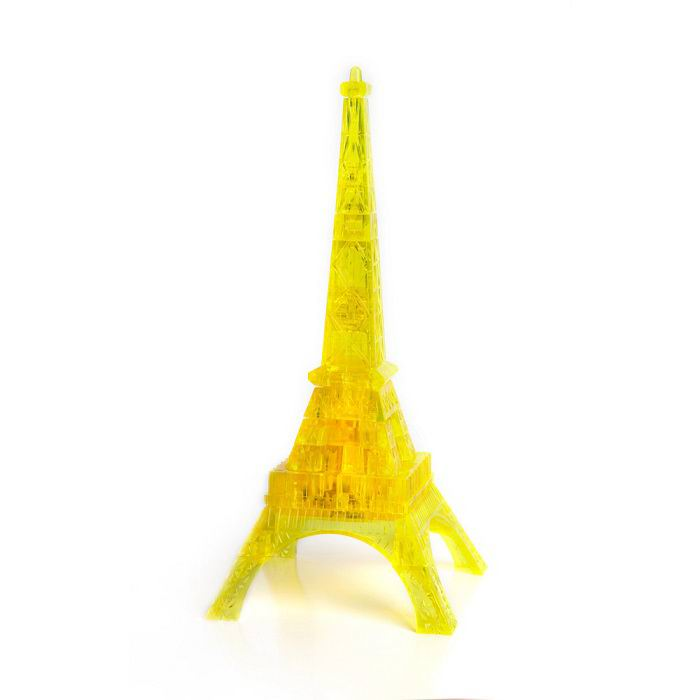 Объемный 3D пазл «Эйфелева башня» желтая Минск