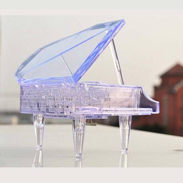 Объемный 3D пазл «Рояль» прозрачная 29 деталей Минск