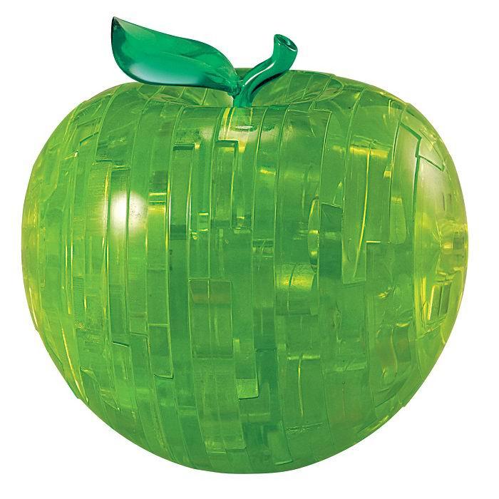 Объемный 3D пазл «Яблоко» зеленое Минск
