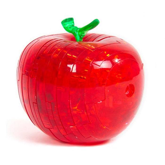 Объемный 3D пазл «Яблоко» красное 45 деталей Минск купить +375447651009
