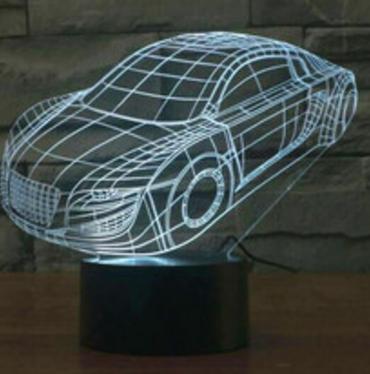 3 светильник Автомобиль'