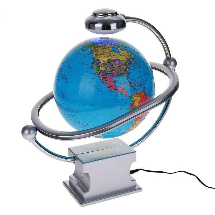 Левитирующий глобус на английском языке Минск +375447651009