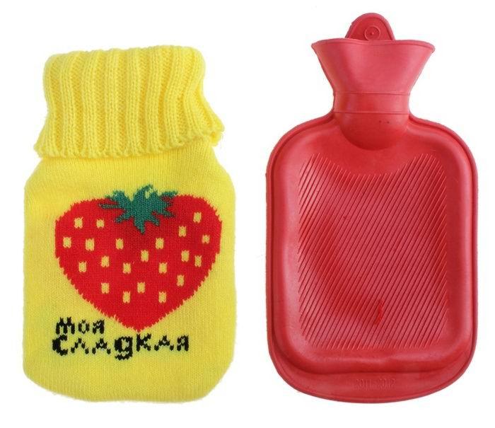 Грелка в вязаном чехле «Моя сладкая»  0.3 л. купить в Минске +375447651009