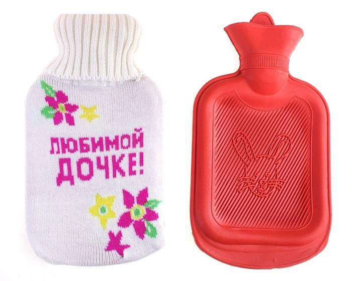 Грелка в вязаном чехле «Любимой дочке» купить в Минске +375447651009