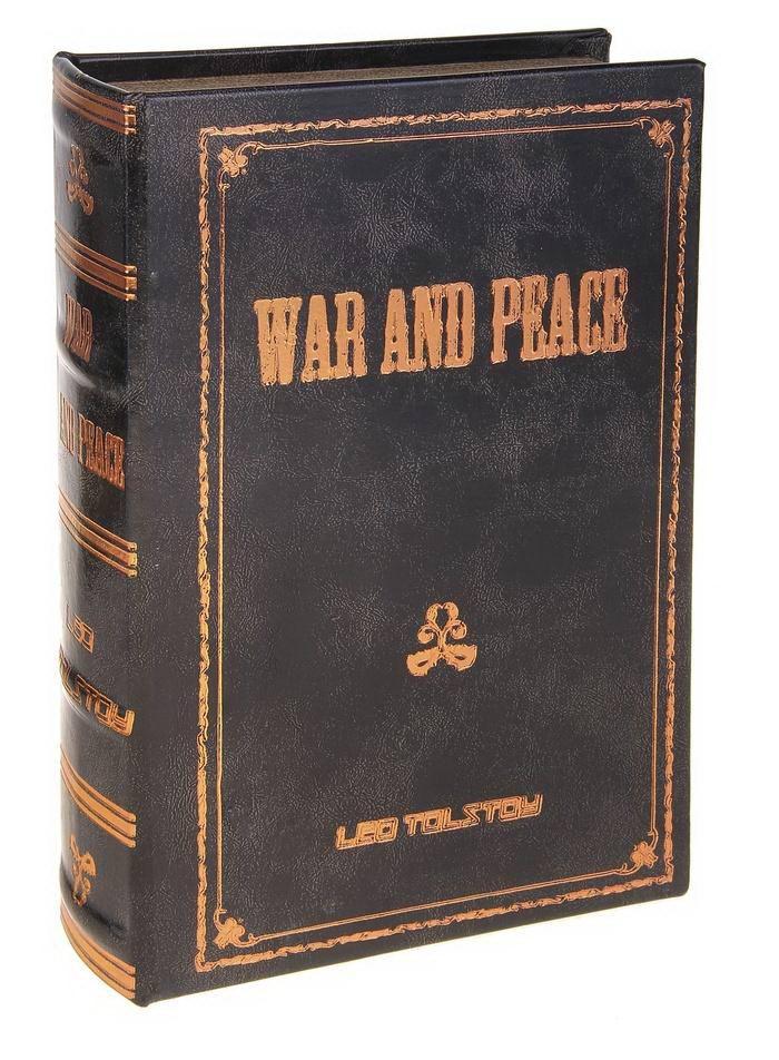 Сейф-книга «Война и мир» Лев Толстой Минск