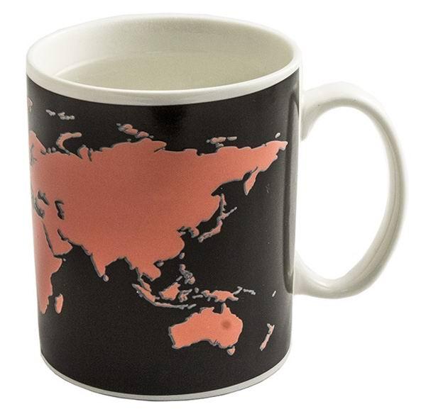 Кружка-хамелеон «Карта Мира» купить Минск