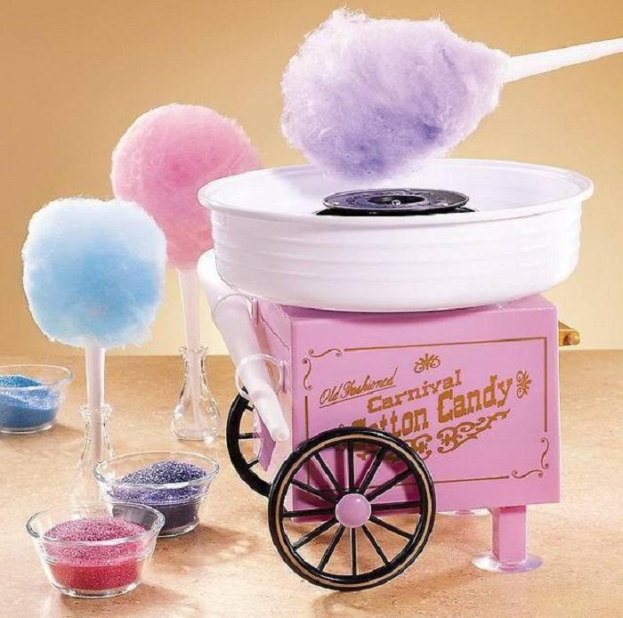 Аппарат для приготовления сахарной ваты «Cotton Candy» купить Минск