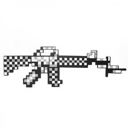 Автомат «Minecraft» белый купить Минск +375447651009