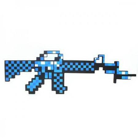 Автомат «Minecraft» синий купить Минск +375447651009