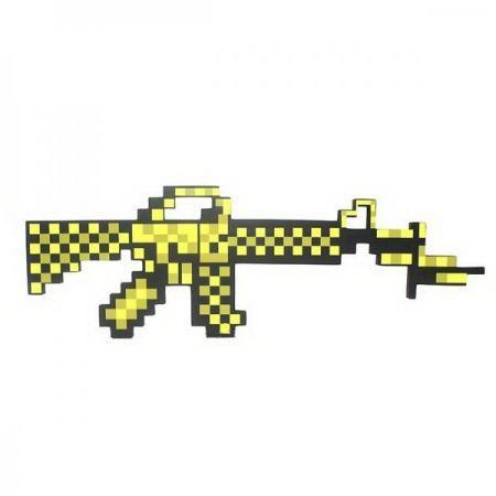 Автомат «Minecraft» желтый купить в Минске +375447651009