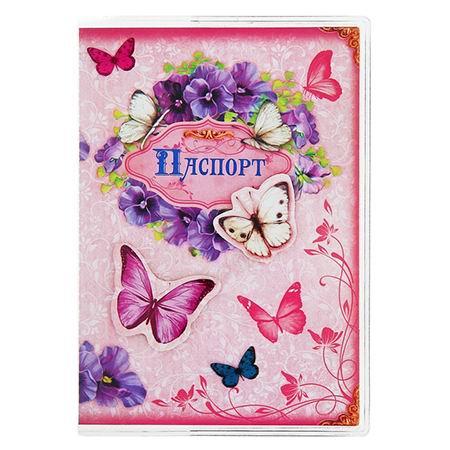 Обложка для паспорта «Бабочки» Минск