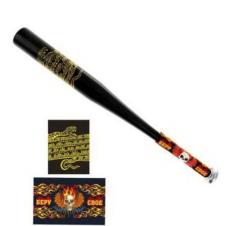 Бита с резиновой ручкой «Беру свое» купить