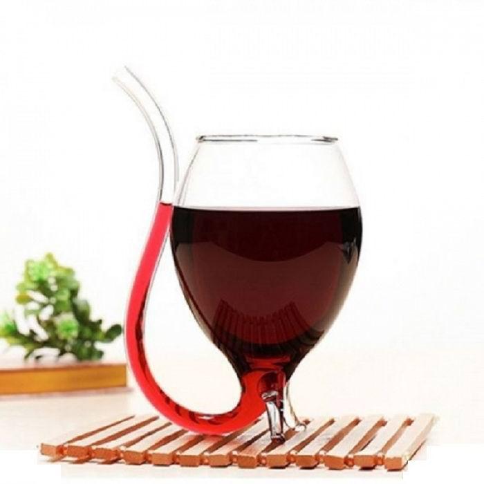 Бокал винный «Элегант» с трубкой купить Минск