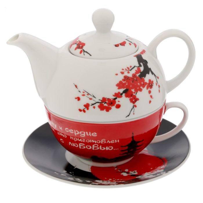 Чайный набор 3 в 1 «С любовью» купить Минск