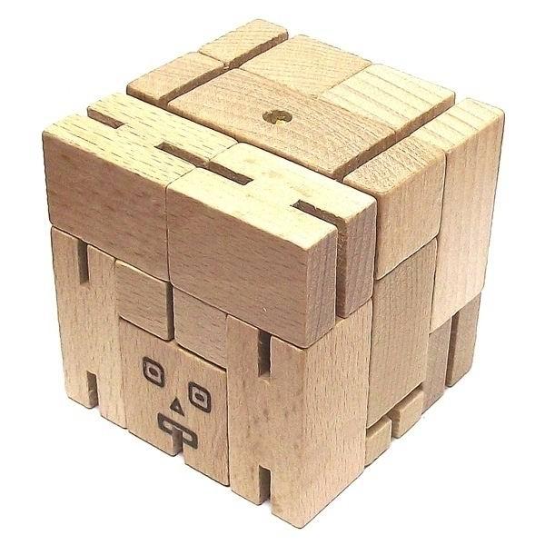 Деревянная головоломка «Робот» №04 купить Минск