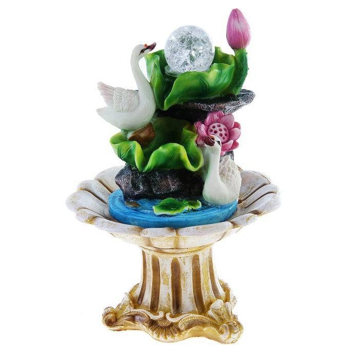 Фонтан декоративный Лебеди купить в Минске +375447651009