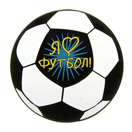 Коврик противоскользящий для авто «Я люблю футбол» Минск +375447651009