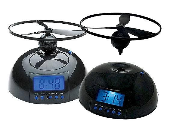 Летающий будильник-вертолет Flying Alarm Clock купить