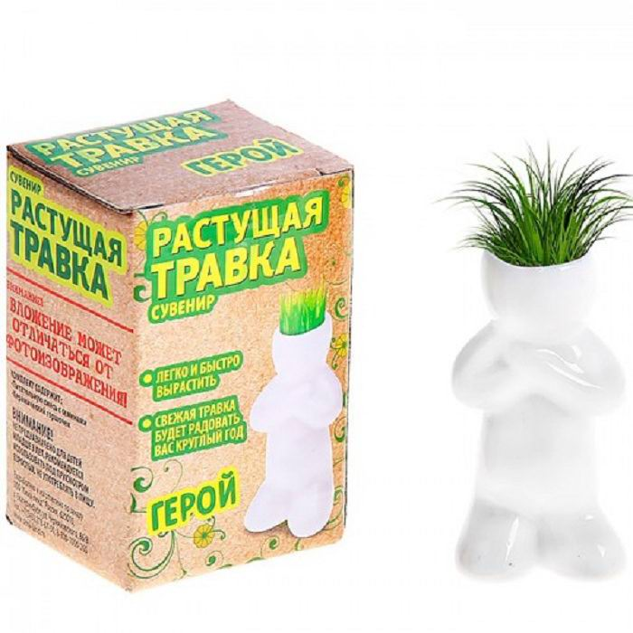 Растущая трава «Герой» Минск