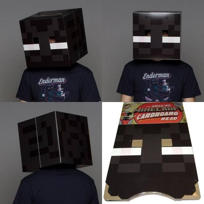 Голова-маска Эндермена «Minecraft» купить Минск +375447651009