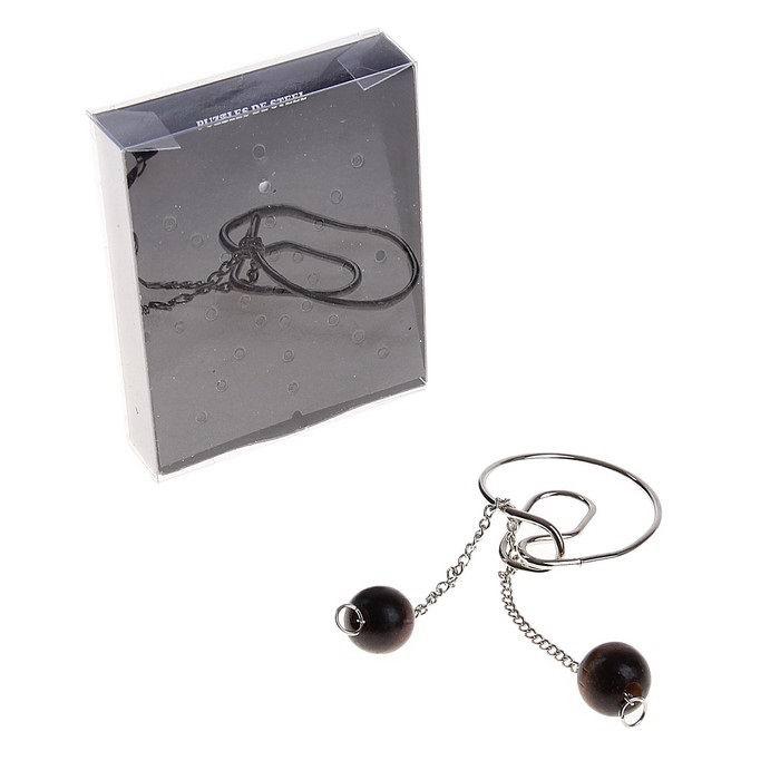 Головоломка металлическая «Путаница» № 10 купить в Минске +375447651009