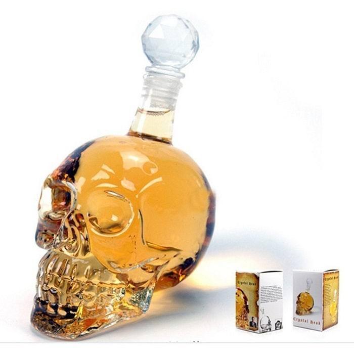 Графин череп на 1 литр