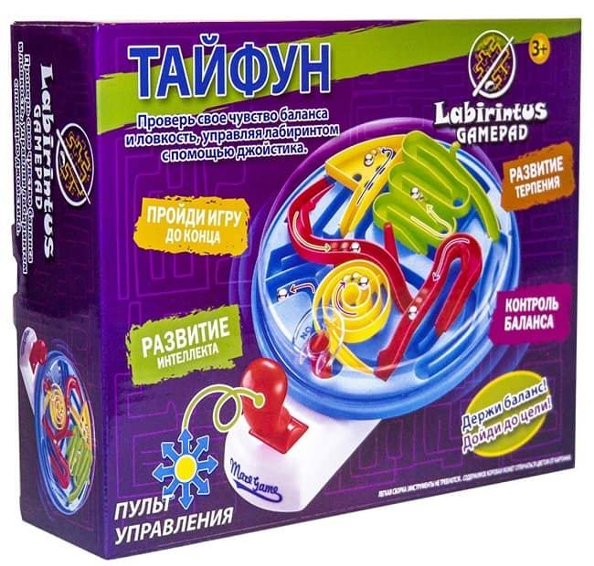 Игра-головоломка Лабиринтус Геймпад «Тайфун» заказать