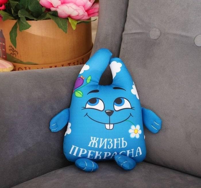 игрушка антистесс зай чо жизнь прекрасна купить в Минске +375447651009