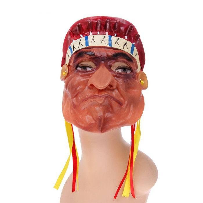 карнавальная маска индеец купить