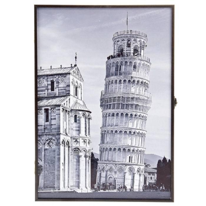 Ключница деревянная «Пизанская башня» купить в Минске +375447651009